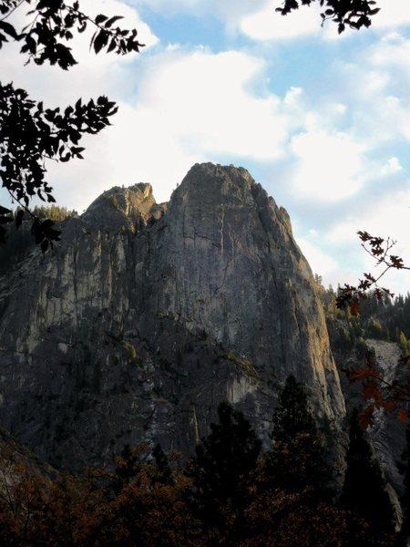 Fall time Sentinel Rock