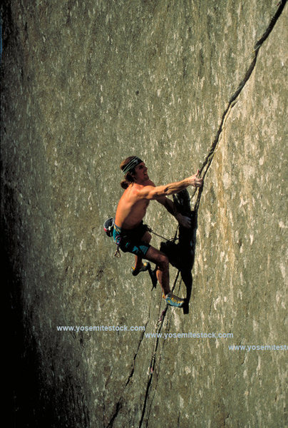 Rock Climbing Photo: Ron Kauk