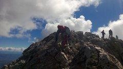 Rock Climbing Photo: Summiting.