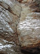 Rock Climbing Photo: Even with a massive snowfall one day earlier the r...
