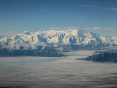 Rock Climbing Photo: Mt. Logan with the Malaspina Glacier in the foregr...