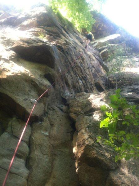 Rock Climbing Photo: BA