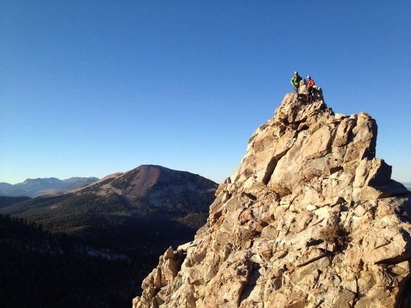 Summit of Crystal Crag