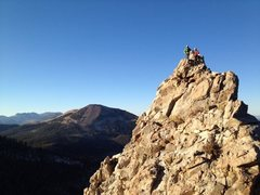Rock Climbing Photo: Summit of Crystal Crag
