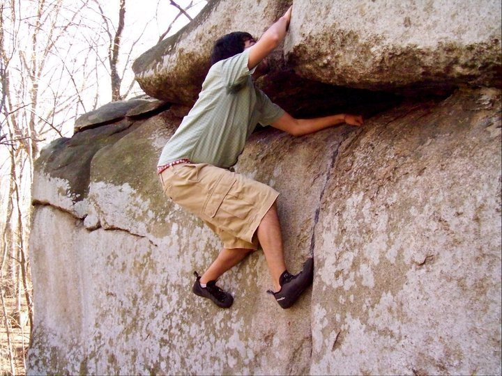 Rock Climbing Photo: GC
