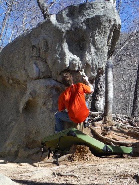 Rock Climbing Photo: Bart
