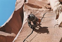 Rock Climbing Photo: Scarface, Indian Creek.