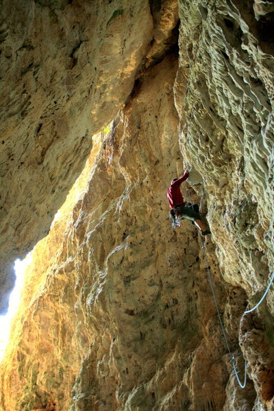 "Rock Climbing Photo: March 2014.  Felt easier than ""No Refund&quot..."