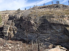 Rock Climbing Photo: Little West Canyon; north end of the East Side fro...