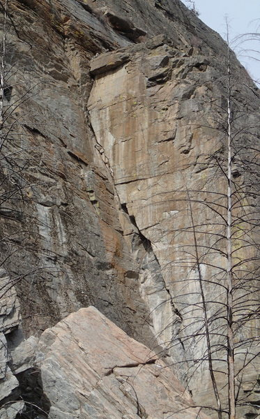"Rock Climbing Photo: ""The Dihedral"", THE classic 5.8 corner c..."