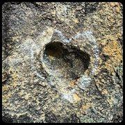 Rock Climbing Photo: Feel the love