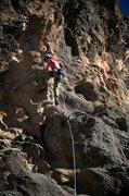 Rock Climbing Photo: Neat, featured finish. January 2014.