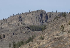 Rock Climbing Photo: SW Buttress from the west slope of the Main Canyon...