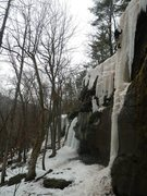Rock Climbing Photo: While many of the climbs on Asbestos Wall are WI2-...