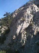 Rock Climbing Photo: Route starts a little out of the shot down left, a...