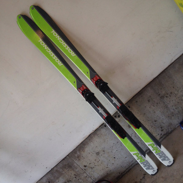 Skis and Bindings (Freeride Plus and Altibirds 176)