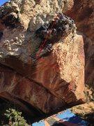Rock Climbing Photo: Beta for Get the Gouda.