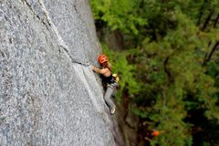 Rock Climbing Photo: Some Autumn Fire action.