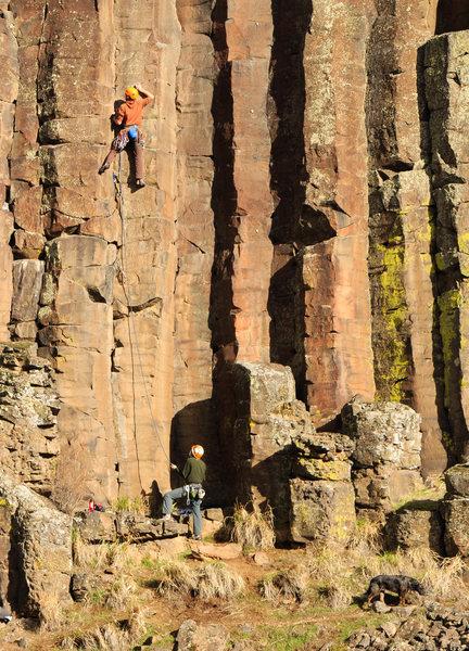 Rock Climbing Photo: The Scream