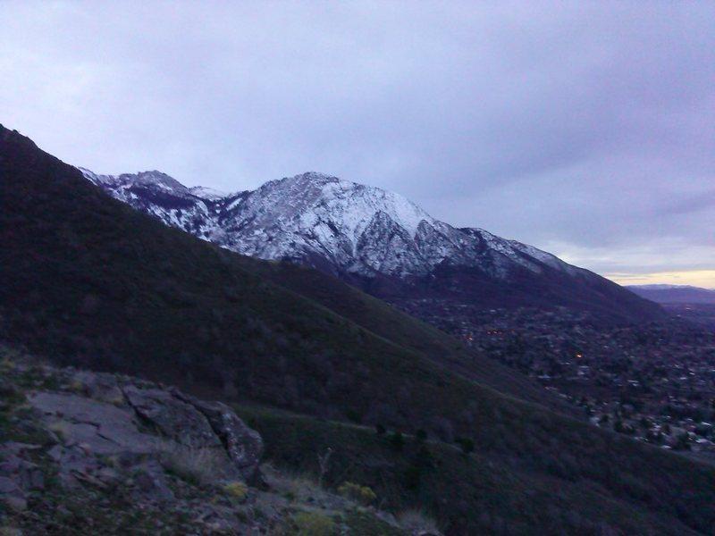 Rock Climbing Photo: Mt. Olympus 3-14