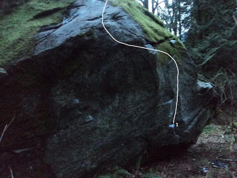 Rock Climbing Photo: 1. Munjil