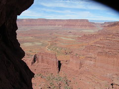 Rock Climbing Photo: Looking North on Fisher Towers