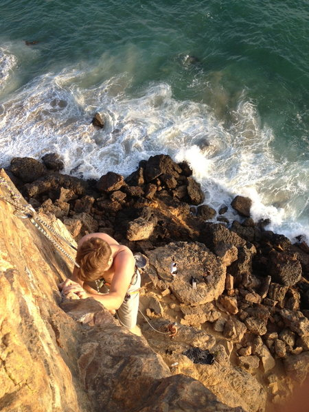 Best climb at Point Dume