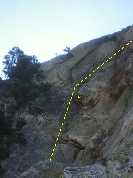 The start of the real climbing.