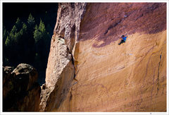 "Rock Climbing Photo:  Jonathan Siegrist, climbing ""Just Do It&quot..."
