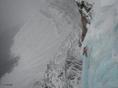 Rock Climbing Photo: Bruce Hendricks, final pitch