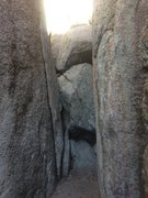 Rock Climbing Photo: Flake Crack