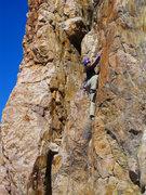 Rock Climbing Photo: Lindsey on Ethics.