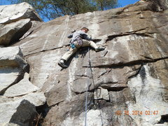 Rock Climbing Photo: Lots of fun for such a short line.