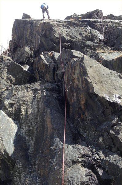Rock Climbing Photo: Tradatrocity