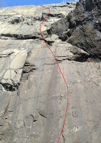Rock Climbing Photo: Eight...No. Ten!