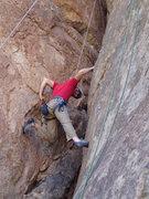 Rock Climbing Photo: Scott on 'Chimney Sweep'
