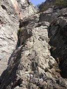 Rock Climbing Photo: Route at Moores