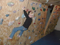 Rock Climbing Photo: Basement woodie