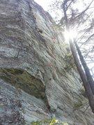 Rock Climbing Photo: topo pic