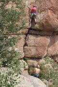Rock Climbing Photo: Beta of the bottom.