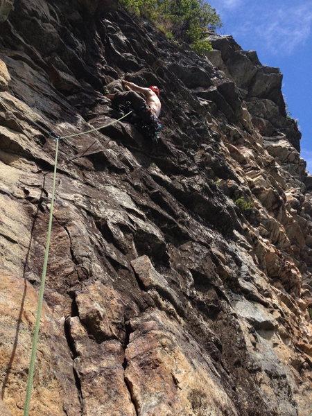 Rock Climbing Photo: Are heel hooks really necessary on Gelsa?