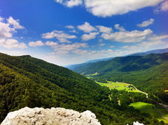 Rock Climbing Photo: A weird perspective. The summit on a beautiful day...