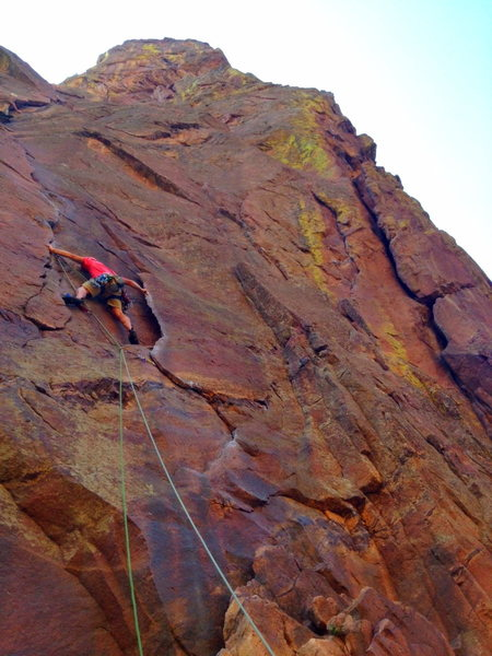 Rock Climbing Photo: Cruxy.