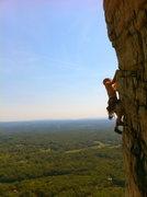 Rock Climbing Photo: The famous traverse