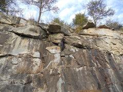 Rock Climbing Photo: An earlier version of Pork Chop. Notice how  much ...