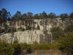 Rock Climbing Photo: View of Top Rope Buttress in 2010.
