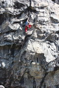 Rock Climbing Photo: lower section of hot rod .11a