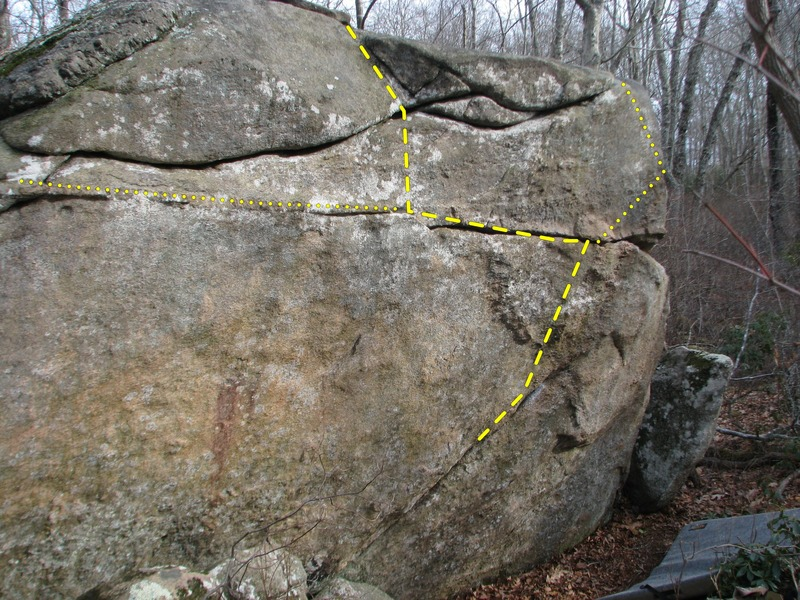 Rock Climbing Photo: Crack Sit