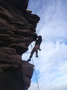 Rock Climbing Photo: Scottish sea cliffs