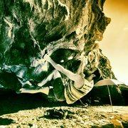 Rock Climbing Photo: Alex Blankenship on Iron Man V3